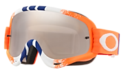 O-Frame® MX Goggles - Pinned Race Orange Blue Red