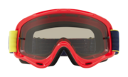 O-Frame® XS MX Goggles (Youth Fit) - Kickstart Red Yellow / Dark Grey