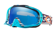 Crowbar® MX Goggles - Troy Lee Design Code Red White Blue