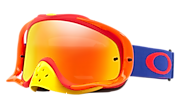 Crowbar® MX Goggles - Flo Blue Red