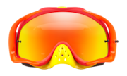 Crowbar® MX Goggles - Flo Blue Red / Fire Iridium