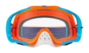 Crowbar® MX Goggles - Flo Orange Blue
