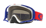 Crowbar® MX Goggles - Checked Finish Red White Black