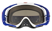 Crowbar® MX Goggles - Checked Finish Red White Blue