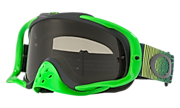 Crowbar® MX Goggles - Shockwave Green Yellow