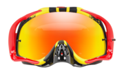 Crowbar® MX Goggles - Pinned Race Yellow Red / Fire Iridium