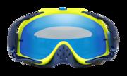 Crowbar® MX Goggles - Thermo Camo Blue Yellow / Black Ice Iridium