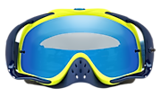 Crowbar® MX Goggles - Thermo Camo Blue Yellow