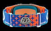 Front Line™ MX Goggles - Troy Lee Design Starburst Blue Orange