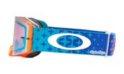 Front Line™ MX Goggle - Troy Lee Design Starburst Blue Orange
