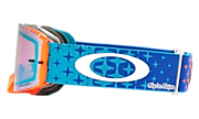 Front Line™ MX Goggles - Troy Lee Designs Starburst Blue Orange