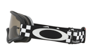 O-Frame® XS MX Goggles (Youth Fit) - Troy Lee Design Checker Black White / Dark Grey