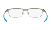 Steel Plate XS (Youth Fit) - Satin Brushed Chrome / Demo Lens