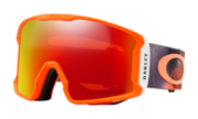 Line Miner™ Snow Goggles - Mystic Flow Neon Orange