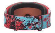 Fall Line Snow Goggles - Arctic Fracture Red Sea