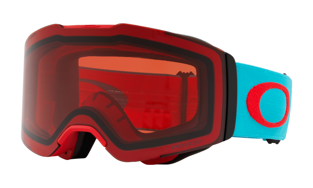 Oakley Fall Line Asia Fit Snow Goggles Caribbean Sea Red Oo7086 16 Oakley Us Store United States