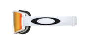 Line Miner™ (Youth Fit) Snow Goggles - White