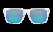 Holbrook™ XL - Polished Clear / Prizm Sapphire Polarized
