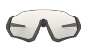 Flight Jacket™ - Steel / Clear Black Iridium Photochromic