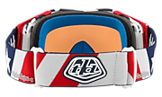 Airbrake® MX Goggles - Troy Lee Designs Liberty Red White Blue