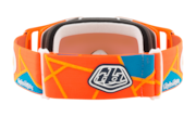Front Line™ MX Goggles - Troy Lee Design Metric Red Orange