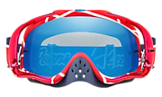 Crowbar® MX Goggles - Troy Lee Designs Metric Red White