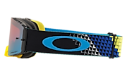 Front Line™ MX Goggles - Dissolve Yellow Blue