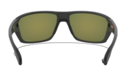 Split Shot - Matte Heather Grey / Prizm Ruby Polarized