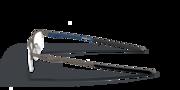 Socket 5.5 - Satin Pewter/Poseidon Blue
