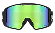 Line Miner™ Snow Goggles - Blockography Dark Brush