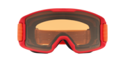 Line Miner™ (Youth Fit) Snow Goggles - Red Neon Orange