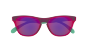 Frogskins™ XS (Youth Fit) - Matte Translucent Crystal Pink / Prizm Road