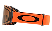 Fall Line XL Snow Goggles - Neon Orange Black