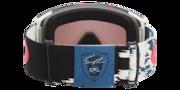 Line Miner™ XL Snow Goggles - Razor Camo Red Blu