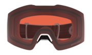 Fall Line XM Snow Goggles - Matte White / Prizm Snow Rose