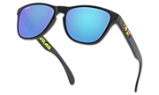 Frogskins™ XS (Youth Fit) Valentino Rossi Signature Series - Polished Black