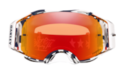 Airbrake® MX Goggles - Troy Lee Design Patriot Red White Blue / Prizm MX Torch Iridium
