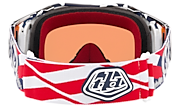 Airbrake® MX Goggles - Troy Lee Designs Patriot Red White Blue