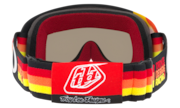 O-Frame® XS MX Goggles (Youth Fit) - Troy Lee Design Pre-Mix Red Yellow Orange