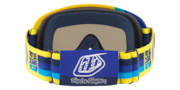 O-Frame® XS MX (Youth Fit) Goggles - Troy Lee Designs Pre-Mix Yellow Blue