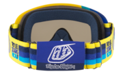 O-Frame® XS MX Goggles (Youth Fit) - Troy Lee Design Pre-Mix Yellow Blue / Dark Grey