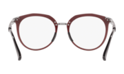 Top Knot™ - Polished Brick Red / Demo Lens