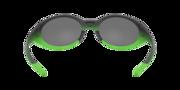 Oakley® Definition Eye Jacket™ Redux - Matte Black Fade Green