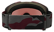 Fall Line XL Snow Goggles - Dark Grey Grenache Camo
