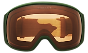 Flight Tracker XL Snow Goggles - Mustard Dark Brush Camo