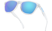 Frogskins™ XS (Youth Fit) - Polished Clear / Prizm Sapphire