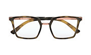 Side Swept - Satin Brown Tortoise