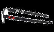 Metal Plate™ - Satin Light Steel