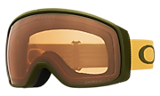 Flight Tracker XM Snow Goggles - Dark Brush Mustard