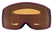 Flight Tracker XS Snow Goggles - Heathered Grenache Black